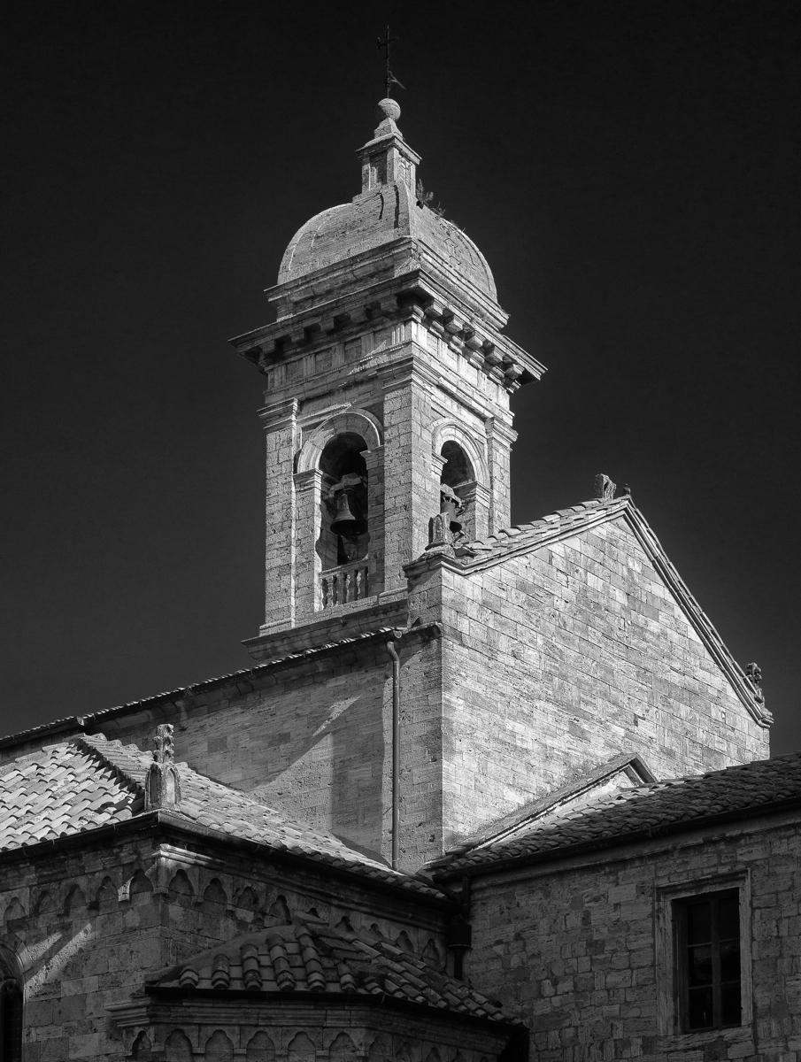 Church Steeple, Tuscany, Italy (large view)