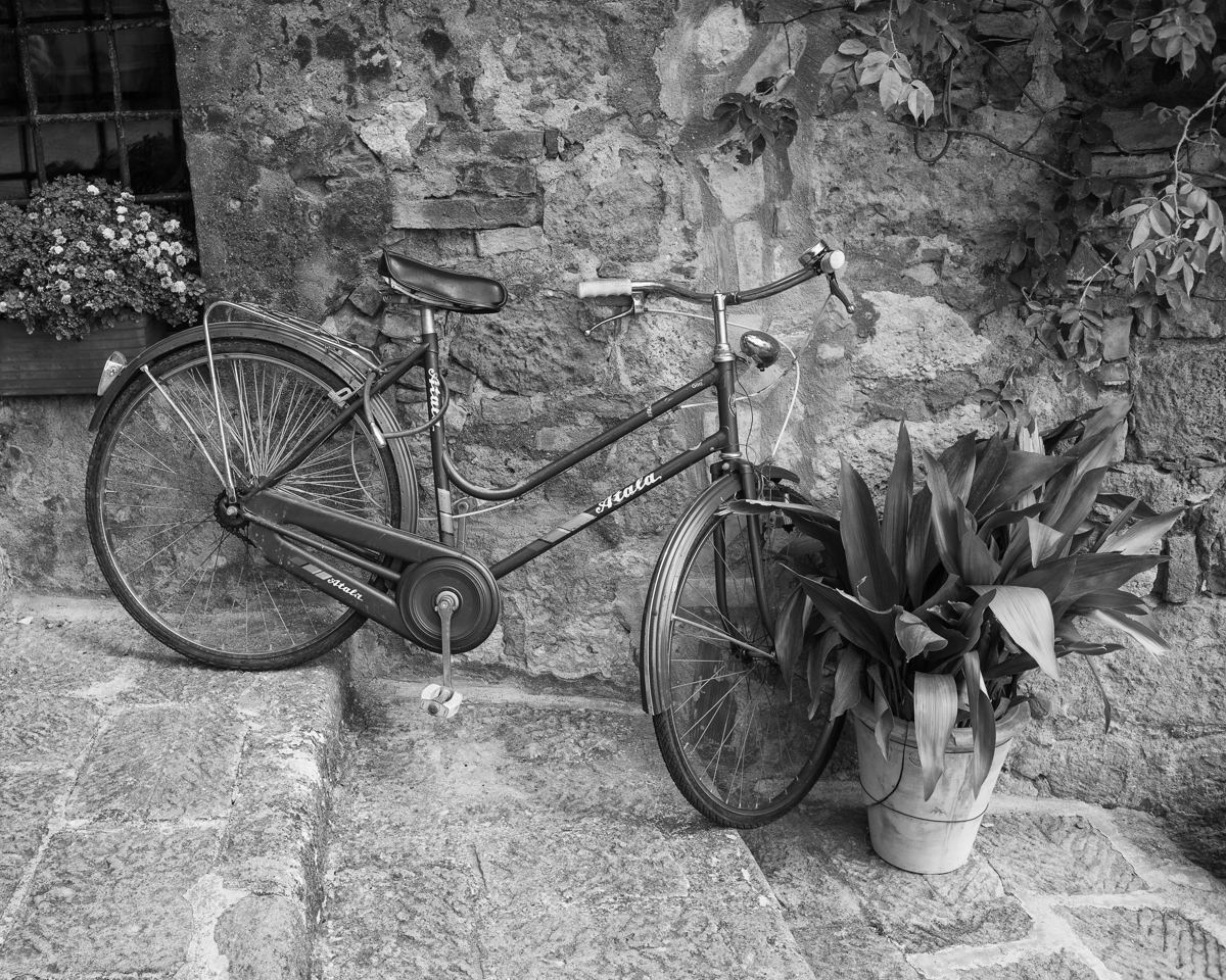 Bicycle, Tuscany-4112, Italy (large view)