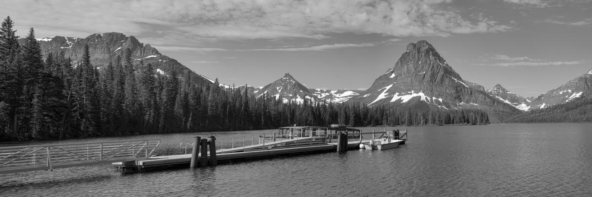Boat Ramp at Lake McDonald, Glacier National Park, MT (large view)