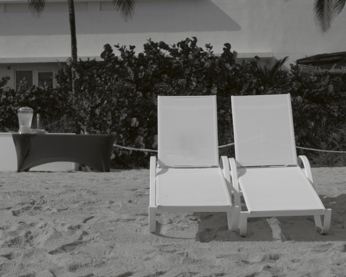 Two Lounge Chairs, Hollywood, Florida (large view)