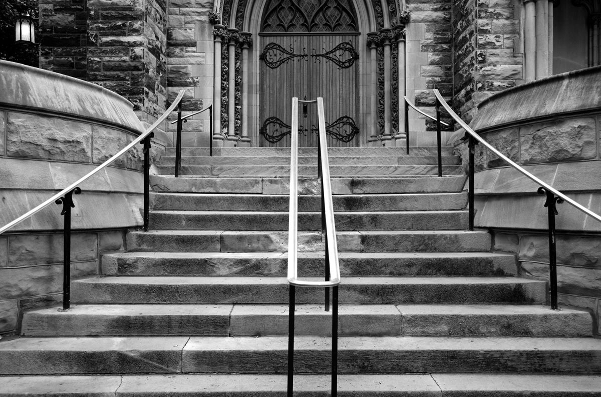 Church Railings, Pittsburgh, Pennsylvania (large view)