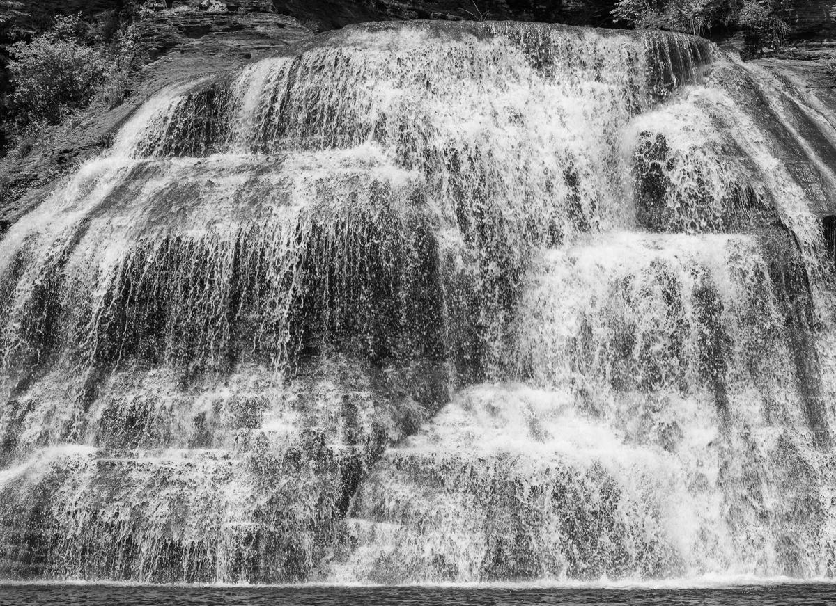 Waterfall, Watkins Glen State Park, New York (large view)