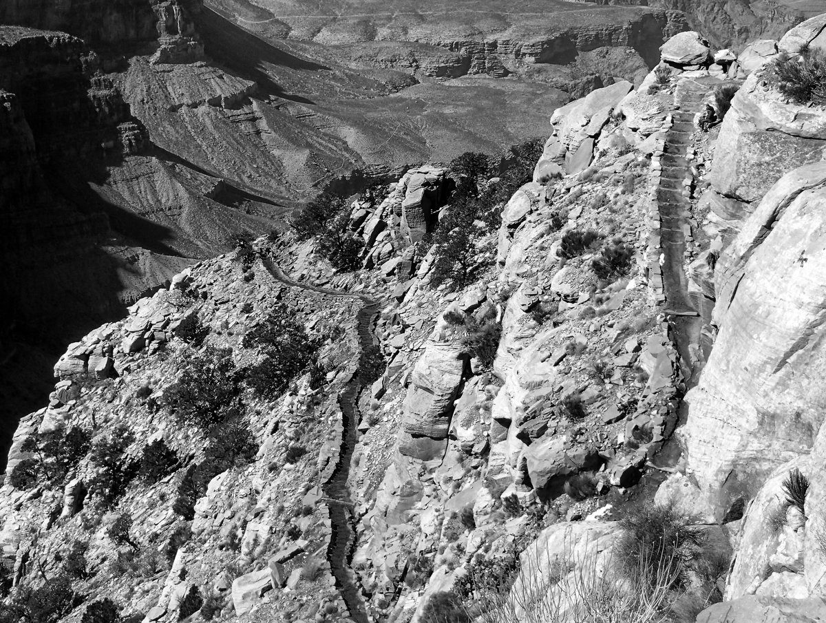 South Kaibab Trail - 054, Grand Canyon N.P., Arizona (large view)