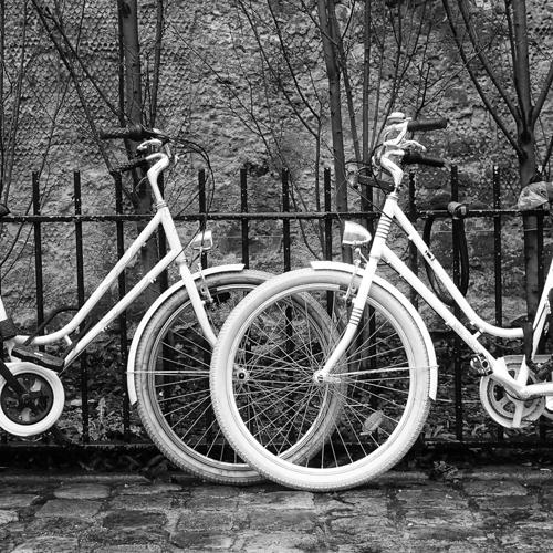Bicycle Tires, Bordeaux, France (large view)