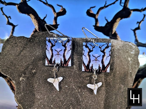 Mirror 092_No. 4 Earrings