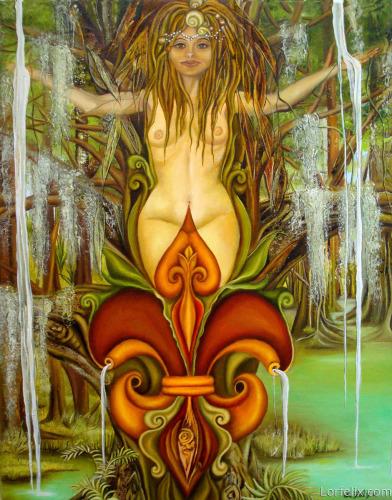 Queen Fleur De Lis