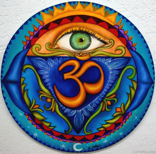 6th Chakra Mandala