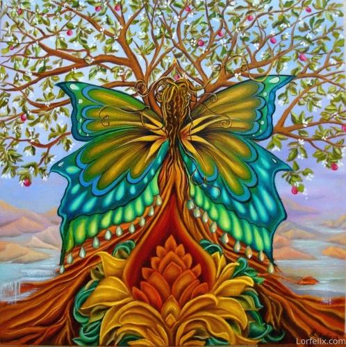 Tree of Life by Lori Felix