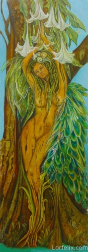 Peacock Goddess