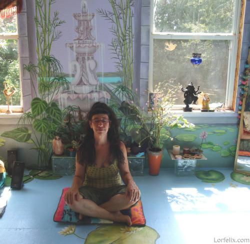Lori Meditating