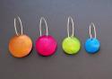 Aluminum polkadot earrings (thumbnail)