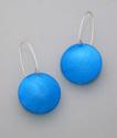 Blue polkadot earrings (thumbnail)