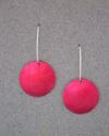 Red polkadot earrings (thumbnail)