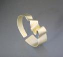 Silver Ribbon Cuff (thumbnail)