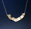 Silver Ribbon Necklace (thumbnail)