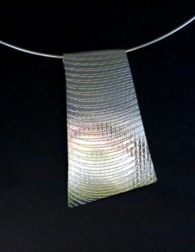 Sterling Silver Textured Slide