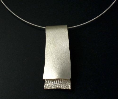 Sterling Silver Soft Layered Slide
