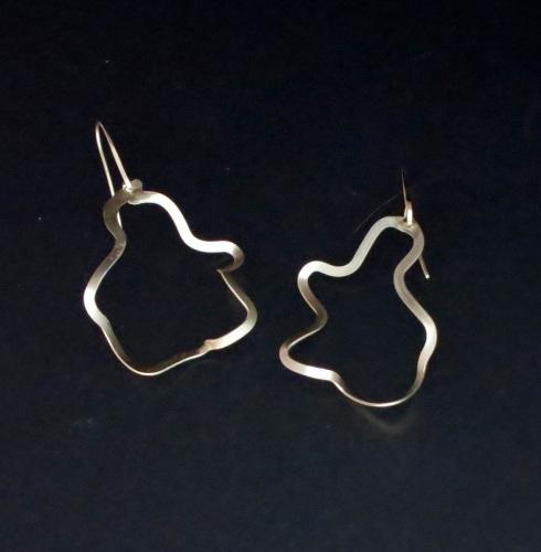 Doodle Hoop earrings
