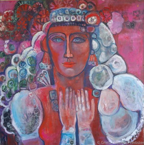 Bulgarian Girl by Gloria Dimcheva Webster