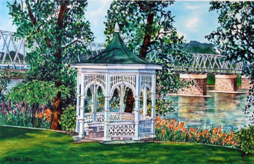 Washington Crossing Gazebo