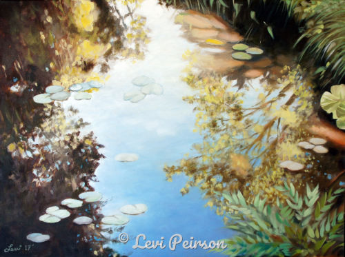 Giverny Reflections
