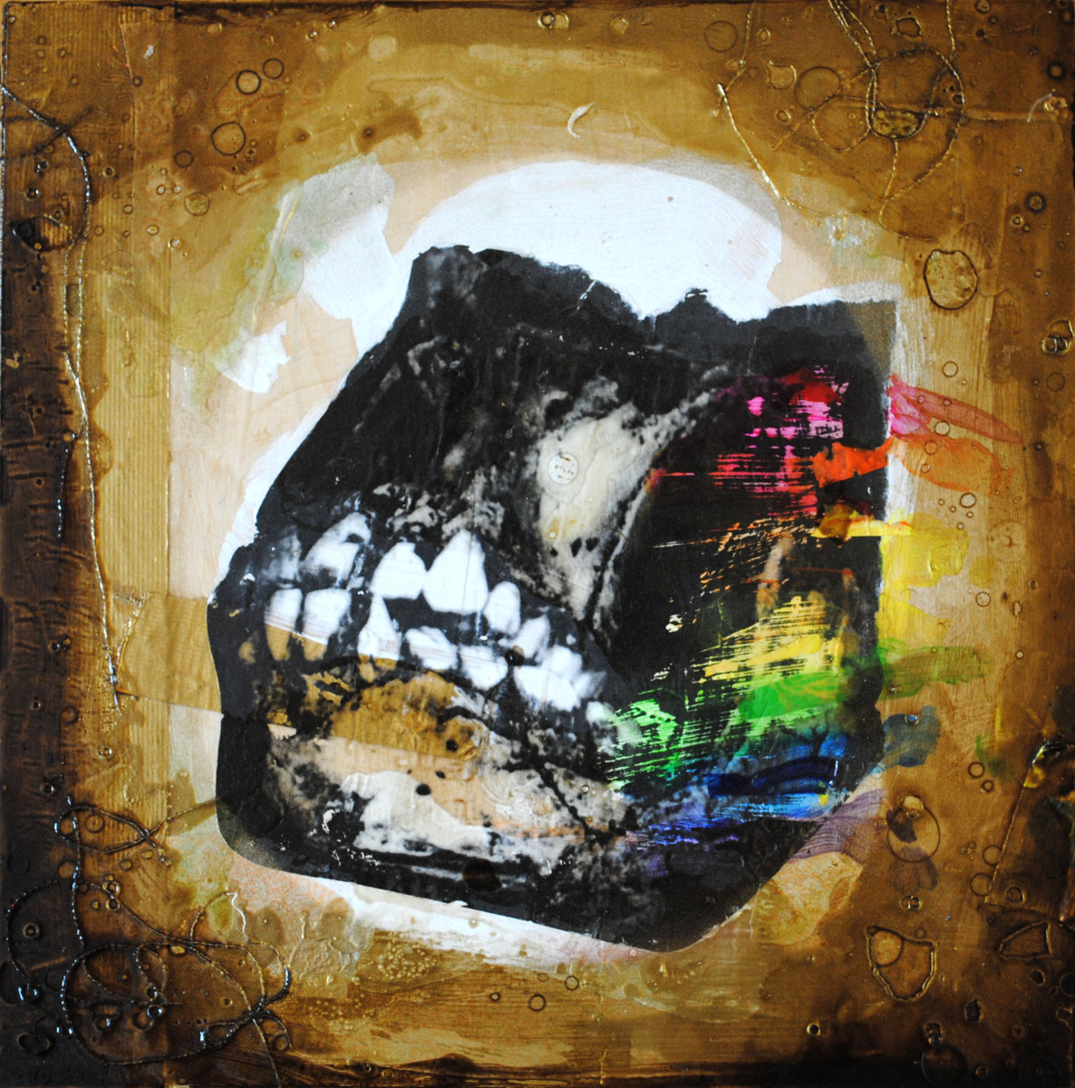 Skull of Early Man is (Made of Rainbows) (large view)