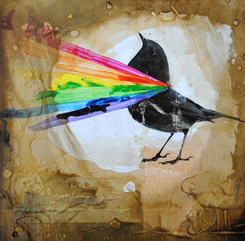 Birds Are (Made of Rainbows) by Lori Remmel: artist