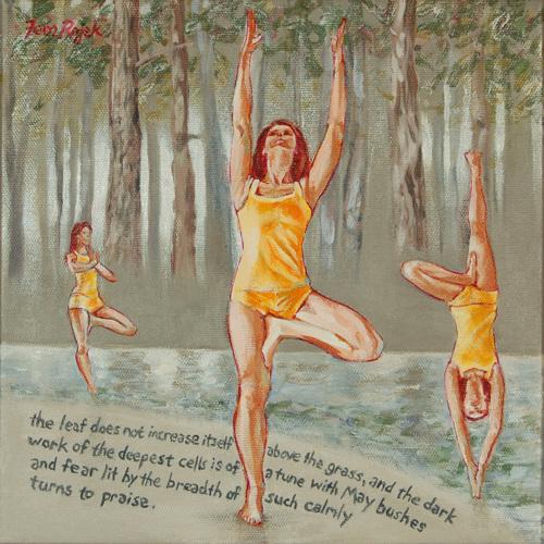 Vrikshasana, Receiving Abundance