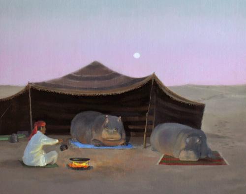 Hippos of the Sahara