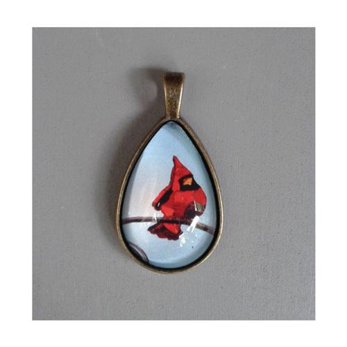 Cardinal BluTeardrop