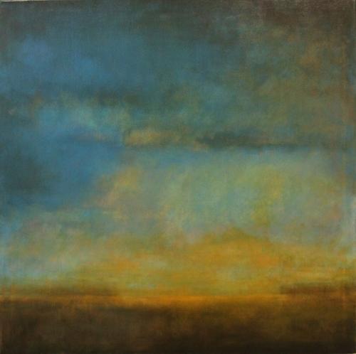 Orange Horizon by Leslie Stokes