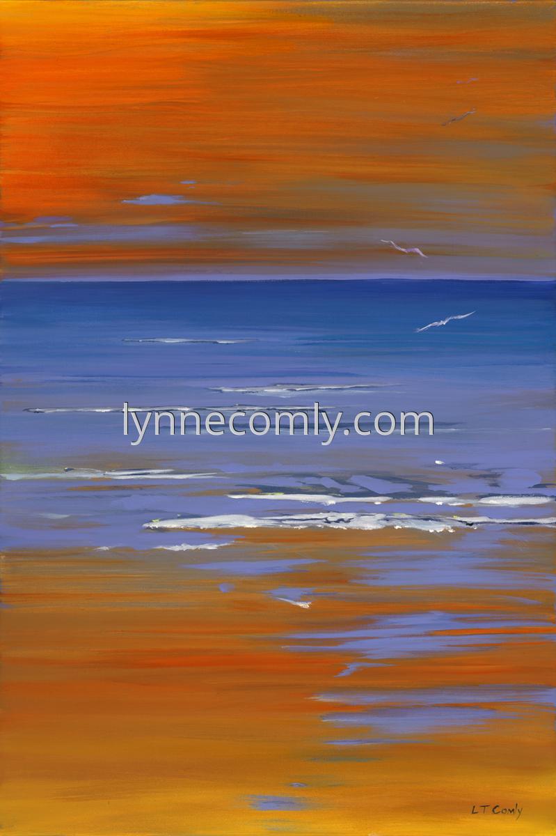 Warm Orange Evening (large view)