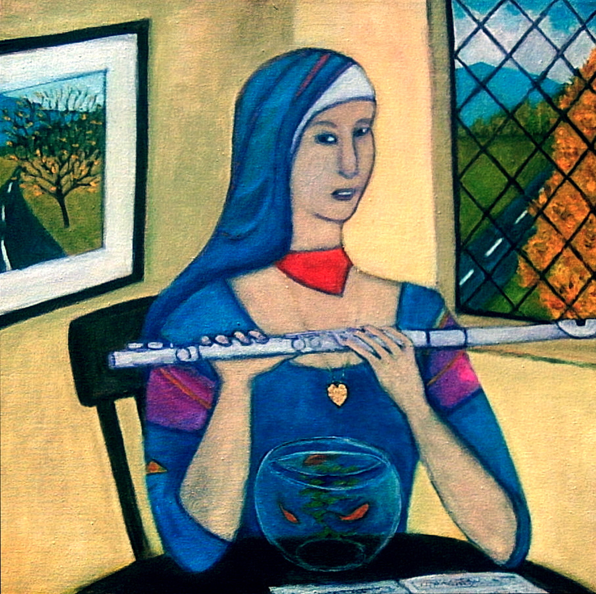 The Flutist (large view)