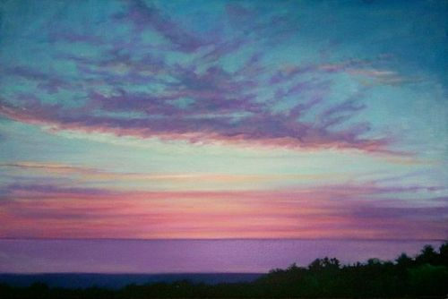 Lavender Sea by Luana Stauffer