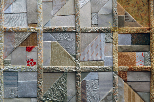 Detail, Sunshine Crazy Quilt