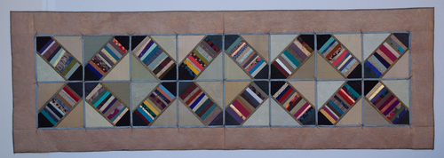 Railroad Crossing Strip Quilt