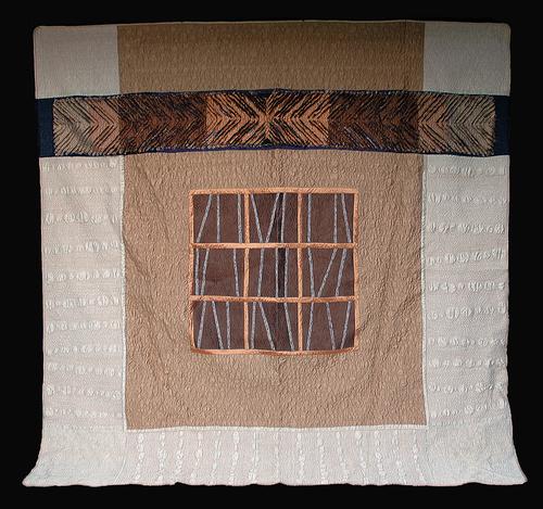 Chenille quilt, with kimono design