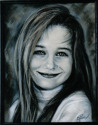 Portrait painting in pastel (thumbnail)