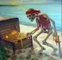 A Skeleton & His Treasures (thumbnail)