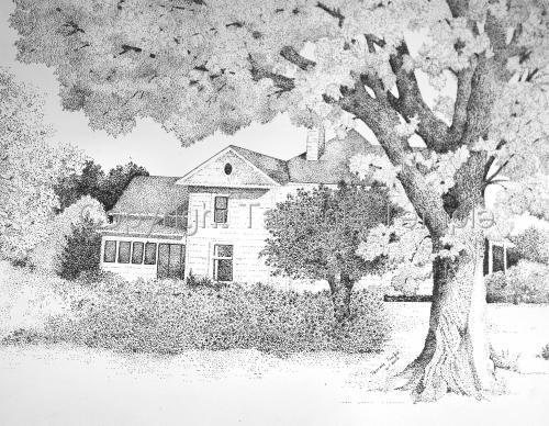 Grandma's & Grandpa's Farmhouse in Iowa by Tammie Temple