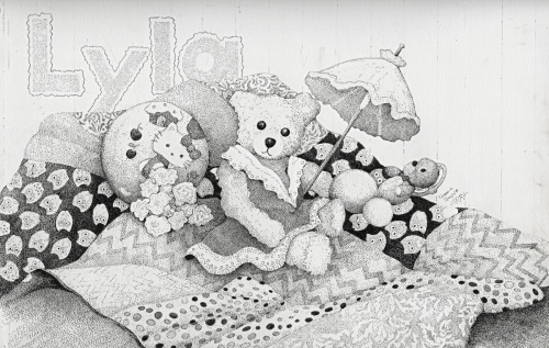 Lyla's Bear & Quilt by Tammie Temple