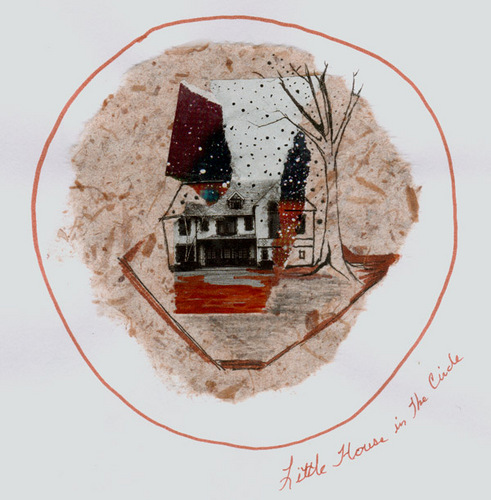 Little House in a circle