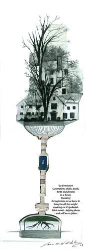 La fondation by Lara von Waldenburg