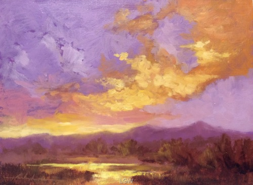 Clouds At Play by Lorrie Warkentin, AFCA