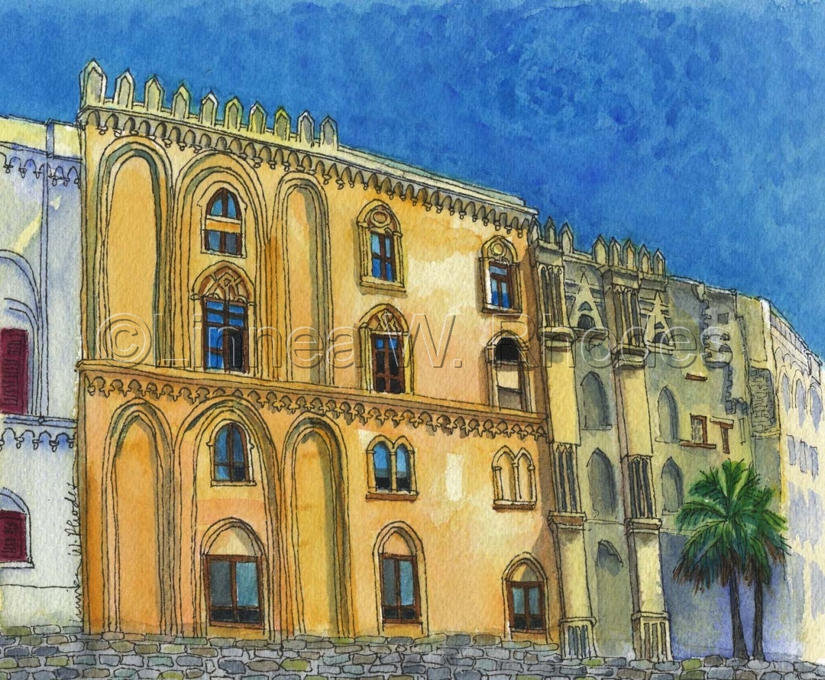 Norman Palazzo by Linnea W. Rhodes (large view)