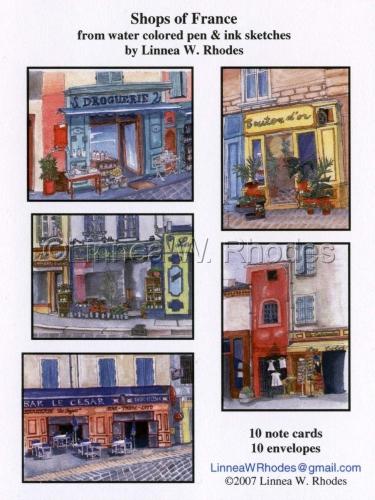 Shops of France by Linnea W. Rhodes