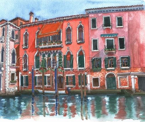 Venice-1 by Linnea W. Rhodes