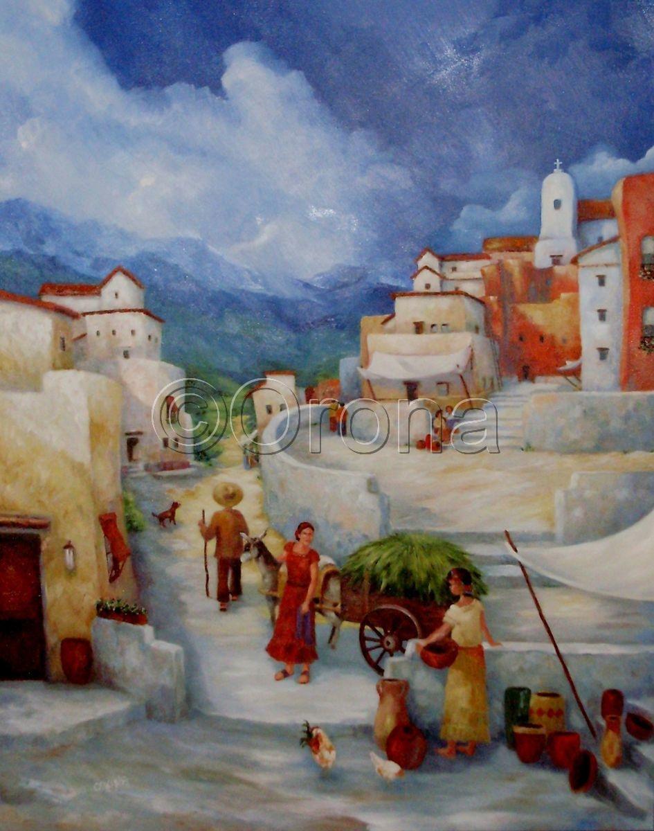 """""""City Vendors"""" (large view)"""