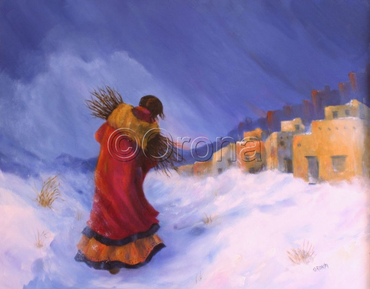 """""""The Wood Gatherer"""" (large view)"""