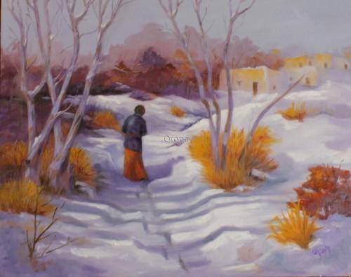 EARLY SNOW by Lyn Orona
